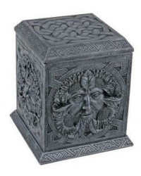 Greenman Four Seasons Box All Wicca Store Magickal Supplies Wiccan Supplies, Wicca Books, Pagan Jewelry, Altar Statues