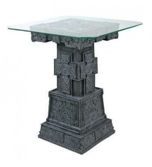 Celtic Cross Side Table at All Wicca Store Magickal Supplies, Wiccan Supplies, Wicca Books, Pagan Jewelry, Altar Statues