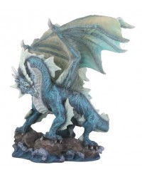 Water Dragon Blue Statue All Wicca Store Magickal Supplies Wiccan Supplies, Wicca Books, Pagan Jewelry, Altar Statues