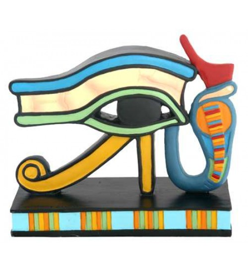 Wedjat Eye of Horus Mini Statue at All Wicca Store Magickal Supplies, Wiccan Supplies, Wicca Books, Pagan Jewelry, Altar Statues