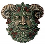 Greenman Summer Wall Plaque