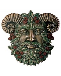 Greenman Summer Wall Plaque All Wicca Store Magickal Supplies Wiccan Supplies, Wicca Books, Pagan Jewelry, Altar Statues