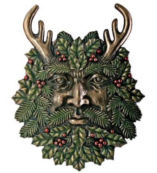 Greenman Fall Wall Plaque at All Wicca Store Magickal Supplies, Wiccan Supplies, Wicca Books, Pagan Jewelry, Altar Statues