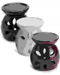 Glazed Ceramic Oil Burner All Wicca Store Magickal Supplies Wiccan Supplies, Wicca Books, Pagan Jewelry, Altar Statues