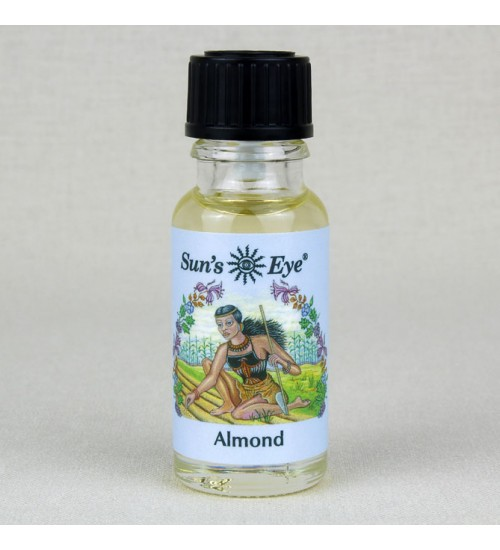 Almond Oil at All Wicca Store Magickal Supplies, Wiccan Supplies, Wicca Books, Pagan Jewelry, Altar Statues