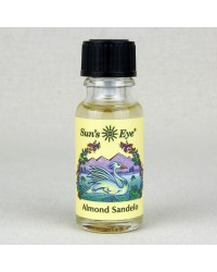 Almond Sandelo Herbal Oil Blend All Wicca Store Magickal Supplies Wiccan Supplies, Wicca Books, Pagan Jewelry, Altar Statues