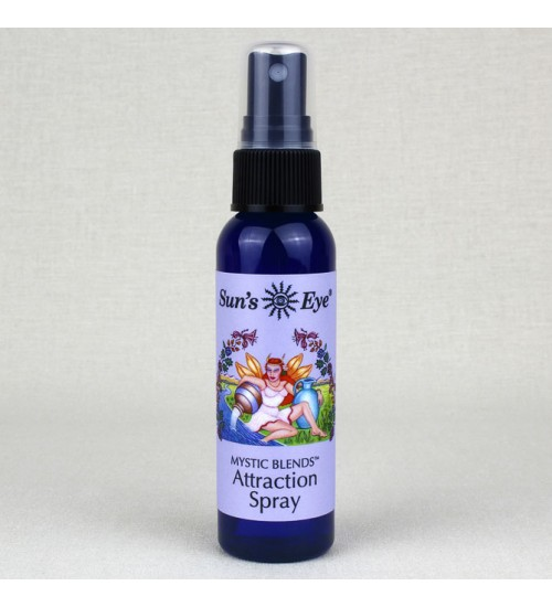 Attraction Spray Mist at All Wicca Store Magickal Supplies, Wiccan Supplies, Wicca Books, Pagan Jewelry, Altar Statues