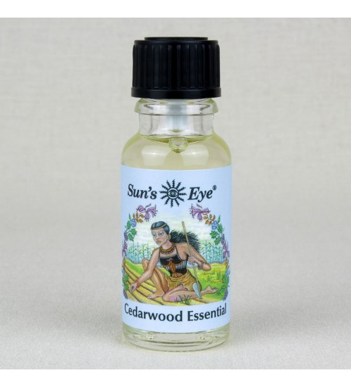 Cedarwood Essential Oil at All Wicca Magickal Supplies, Wiccan Supplies, Wicca Books, Pagan Jewelry, Altar Statues