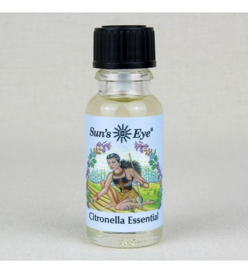 Citronella Essential Oil at All Wicca Magickal Supplies, Wiccan Supplies, Wicca Books, Pagan Jewelry, Altar Statues
