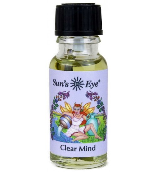 Clear Mind Mystic Blends Oils at All Wicca Store Magickal Supplies, Wiccan Supplies, Wicca Books, Pagan Jewelry, Altar Statues