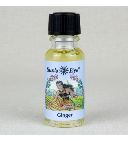 Ginger Oil at All Wicca Store Magickal Supplies, Wiccan Supplies, Wicca Books, Pagan Jewelry, Altar Statues