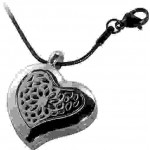 Heart Aromatherapy Locket Necklace