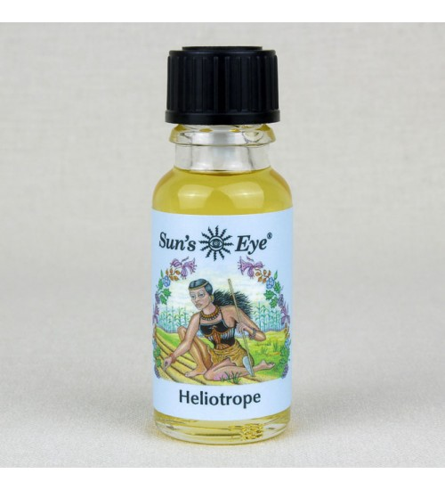 Heliotrope Oil Blend at All Wicca Magickal Supplies, Wiccan Supplies, Wicca Books, Pagan Jewelry, Altar Statues