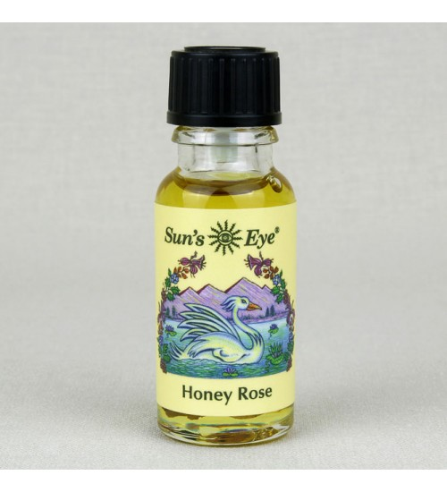 Honey Rose Herbal Oil Blend at All Wicca Store Magickal Supplies, Wiccan Supplies, Wicca Books, Pagan Jewelry, Altar Statues