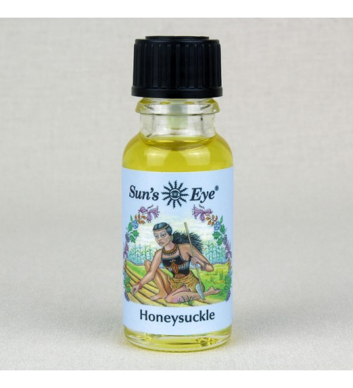 Honeysuckle Oil Blend at All Wicca Store Magickal Supplies, Wiccan Supplies, Wicca Books, Pagan Jewelry, Altar Statues