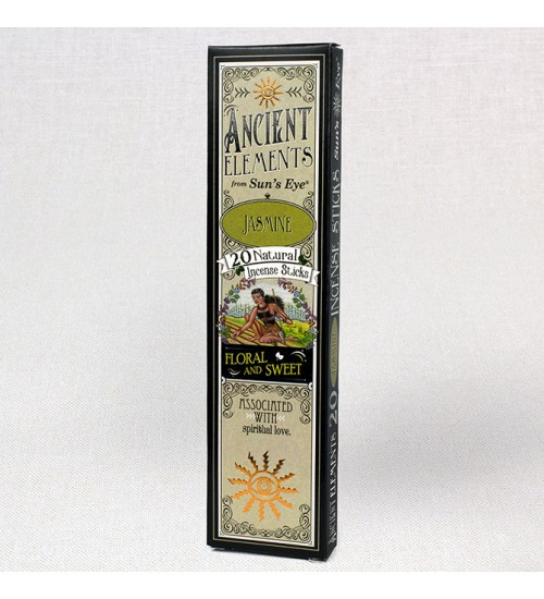 Jasmine Ancient Elements Incense Sticks at All Wicca Magickal Supplies, Wiccan Supplies, Wicca Books, Pagan Jewelry, Altar Statues