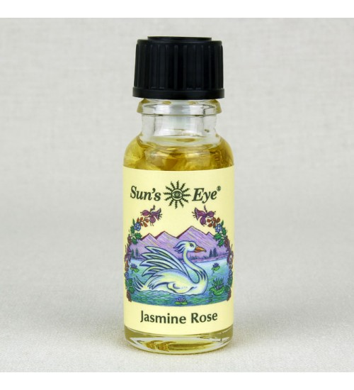 Jasmine Rose Herbal Oil Blend at All Wicca Magickal Supplies, Wiccan Supplies, Wicca Books, Pagan Jewelry, Altar Statues