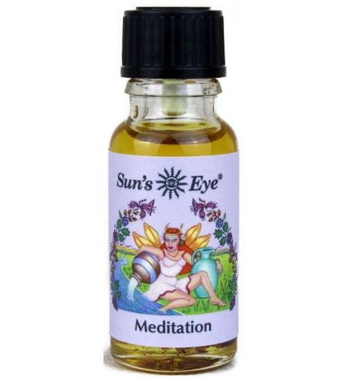 Meditation Mystic Blends Oil at All Wicca Store Magickal Supplies, Wiccan Supplies, Wicca Books, Pagan Jewelry, Altar Statues