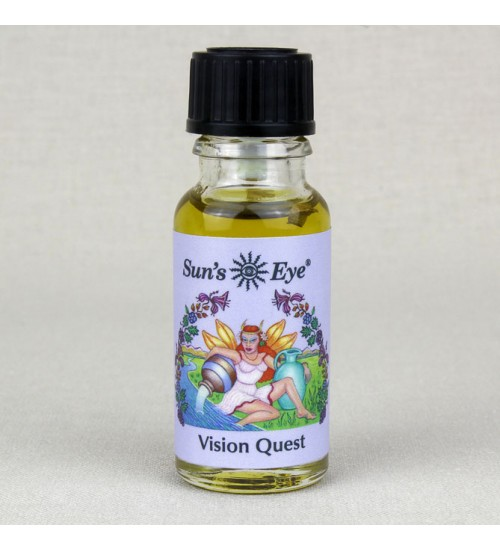 Vision Quest Mystic Blends Oil at All Wicca Store Magickal Supplies, Wiccan Supplies, Wicca Books, Pagan Jewelry, Altar Statues
