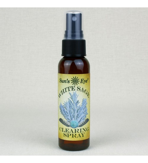 White Sage Clearing Spray Mist at All Wicca Magickal Supplies, Wiccan Supplies, Wicca Books, Pagan Jewelry, Altar Statues