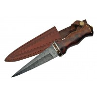 Rosewood Handle Witches Athame with Sheath