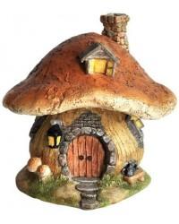 Mushroom Fairy House Enchanted Story Garden Home