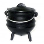 Cast Iron Mini Potjie Cauldron - 5 Oz