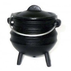 Cast Iron Mini Potjie Cauldron - 8 Oz All Wicca Wiccan Altar Supplies, All Wicca Books, Pagan Jewelry, Wiccan Statues