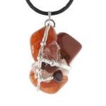 Fertility Goddess Gemstone Amulet
