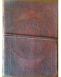Celtic Mandala Leather Journal All Wicca Store Magickal Supplies Wiccan Supplies, Wicca Books, Pagan Jewelry, Altar Statues