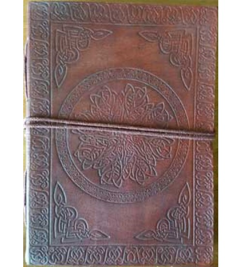 Celtic Mandala Leather Journal at All Wicca Store Magickal Supplies, Wiccan Supplies, Wicca Books, Pagan Jewelry, Altar Statues