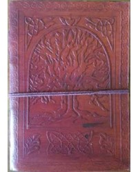 Tree of Life 7 Inch Leather Journal All Wicca Magickal Supplies Wiccan Supplies, Wicca Books, Pagan Jewelry, Altar Statues