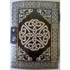 Pentacle Black and Silver Book of Shadows Journal with Latch at All Wicca Store Magickal Supplies, Wiccan Supplies, Wicca Books, Pagan Jewelry, Altar Statues