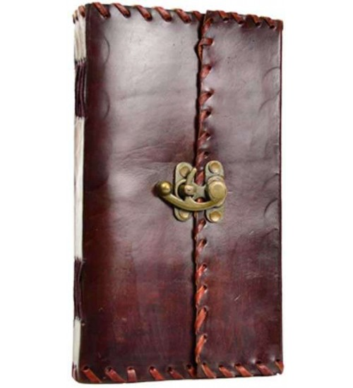 1842 Poetry Leather Blank Book - 9 Inches at All Wicca Store Magickal Supplies, Wiccan Supplies, Wicca Books, Pagan Jewelry, Altar Statues