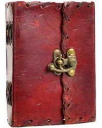1842 Poetry Leather Blank Small Book - 5 Inches