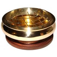 Brass Screen Top Incense Burner