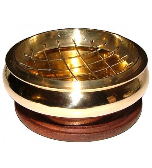 Brass Screen Top Incense Burner at All Wicca Store Magickal Supplies, Wiccan Supplies, Wicca Books, Pagan Jewelry, Altar Statues
