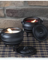 Cauldron Candle - Citronella All Wicca Store Magickal Supplies Wiccan Supplies, Wicca Books, Pagan Jewelry, Altar Statues