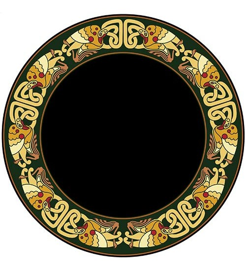 Celtic Birds Acrylic Scrying Mirror at All Wicca Store Magickal Supplies, Wiccan Supplies, Wicca Books, Pagan Jewelry, Altar Statues