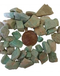 Amazonite Raw Untumbled Stones - 1 Pound Pack All Wicca Store Magickal Supplies Wiccan Supplies, Wicca Books, Pagan Jewelry, Altar Statues