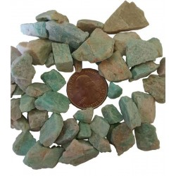 Amazonite Raw Untumbled Stones - 1 Pound Pack All Wicca Wiccan Altar Supplies, All Wicca Books, Pagan Jewelry, Wiccan Statues