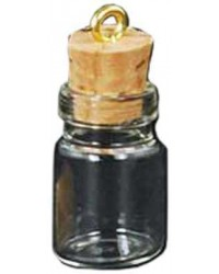 Glass Jar Oil Bottle Vial Necklace All Wicca Store Magickal Supplies Wiccan Supplies, Wicca Books, Pagan Jewelry, Altar Statues