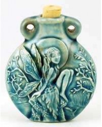 Tree Fairy Raku Oil Bottle Necklace All Wicca Store Magickal Supplies Wiccan Supplies, Wicca Books, Pagan Jewelry, Altar Statues