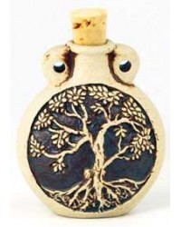 Tree of Life Oil Bottle Necklace All Wicca Store Magickal Supplies Wiccan Supplies, Wicca Books, Pagan Jewelry, Altar Statues