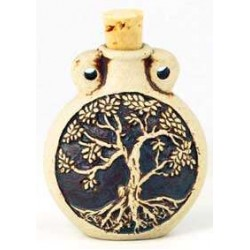 Tree of Life Oil Bottle Necklace All Wicca Wiccan Altar Supplies, All Wicca Books, Pagan Jewelry, Wiccan Statues