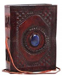 Gods Eye 7 Inch Leather Journal All Wicca Store Magickal Supplies Wiccan Supplies, Wicca Books, Pagan Jewelry, Altar Statues