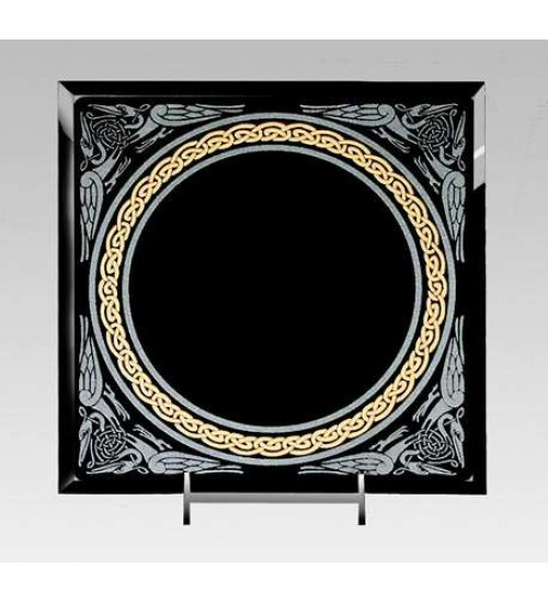 Celtic Border Black Acrylic Scrying Mirror at All Wicca Store Magickal Supplies, Wiccan Supplies, Wicca Books, Pagan Jewelry, Altar Statues