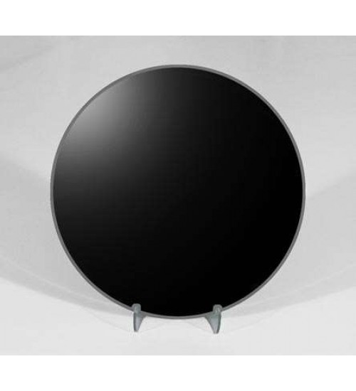 8 Inch Round Black Scrying Mirror at All Wicca Store Magickal Supplies, Wiccan Supplies, Wicca Books, Pagan Jewelry, Altar Statues