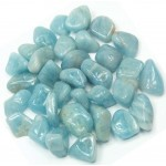 Aquamarine Tumbled Stones - 1 Pound Pack