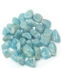 Aquamarine Tumbled Stones - 1 Pound Pack All Wicca Store Magickal Supplies Wiccan Supplies, Wicca Books, Pagan Jewelry, Altar Statues